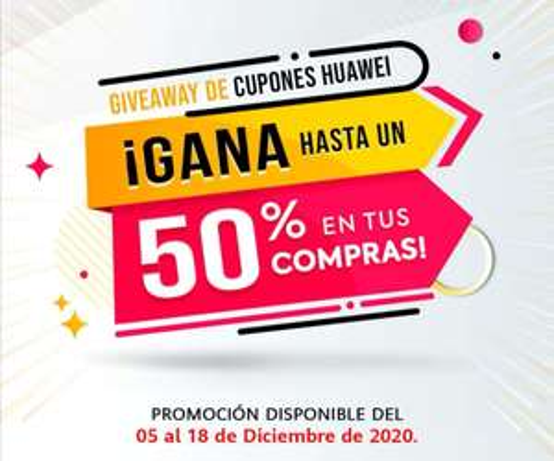 Huawei AppGallery: Cupones Huawei de hasta 50% (+Santa Club Gamer: 6USD de Regalo! )