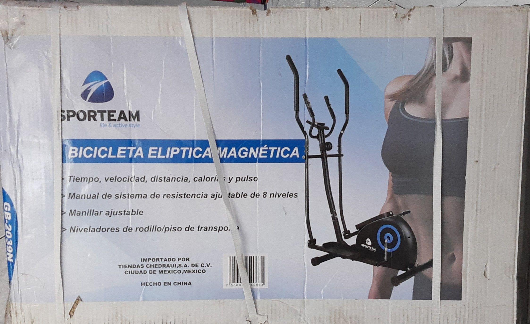 Chedraui bicicleta eliptica magnética GB 2039N