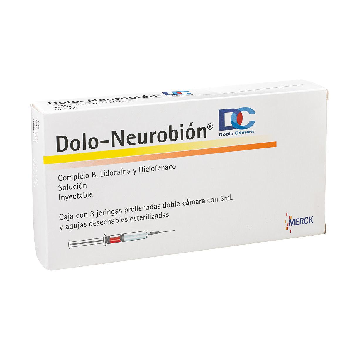 Costco: Dolo-Neurobion DC Inyectable con 3 jeringas prellenadas, 3ml