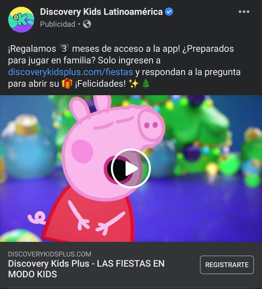 3 meses gratis de Discovery Kids Plus