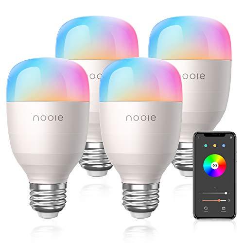 Amazon Nooie Smart LED Bombillas WiFi E26 Multicolor