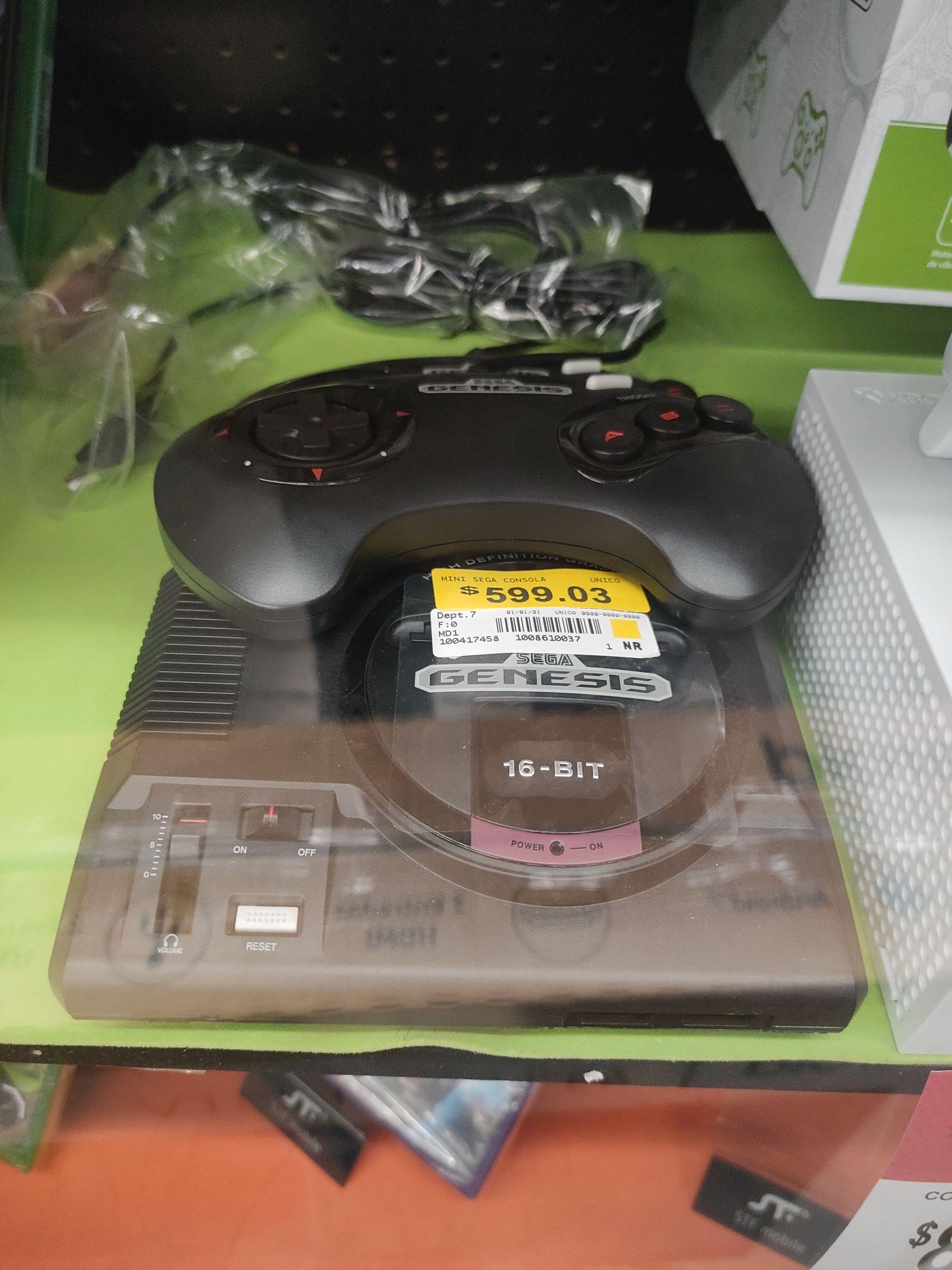 Bodega Aurrera: Mini consola Sega y Essentials Bundle para Switch