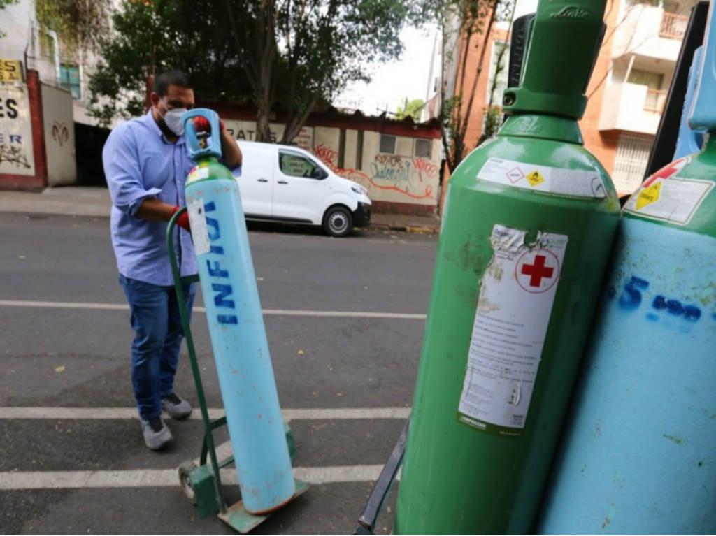 Llenado gratis de Tanque de oxigeno Gustavo A.Madero
