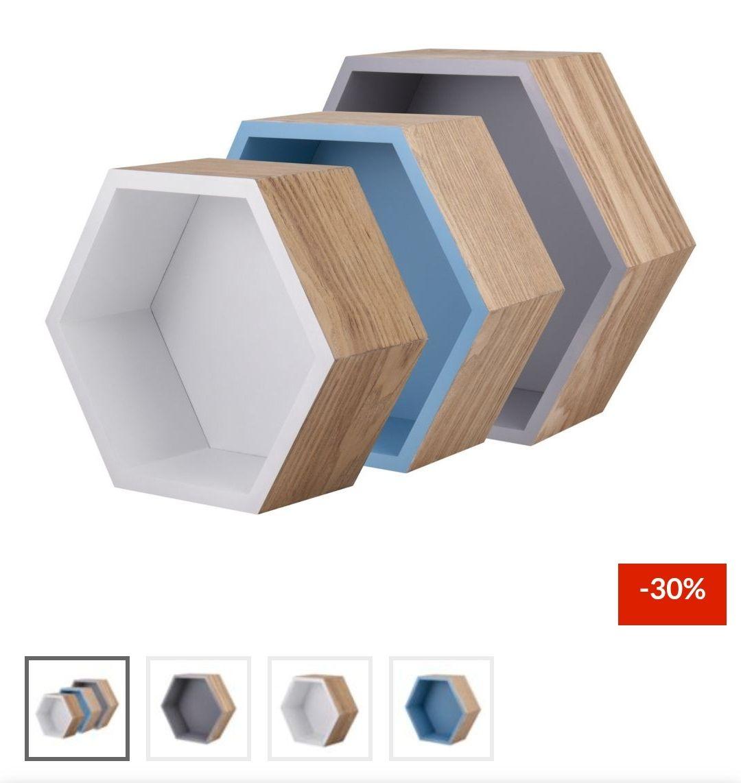 Sodimac repisas hexagonales