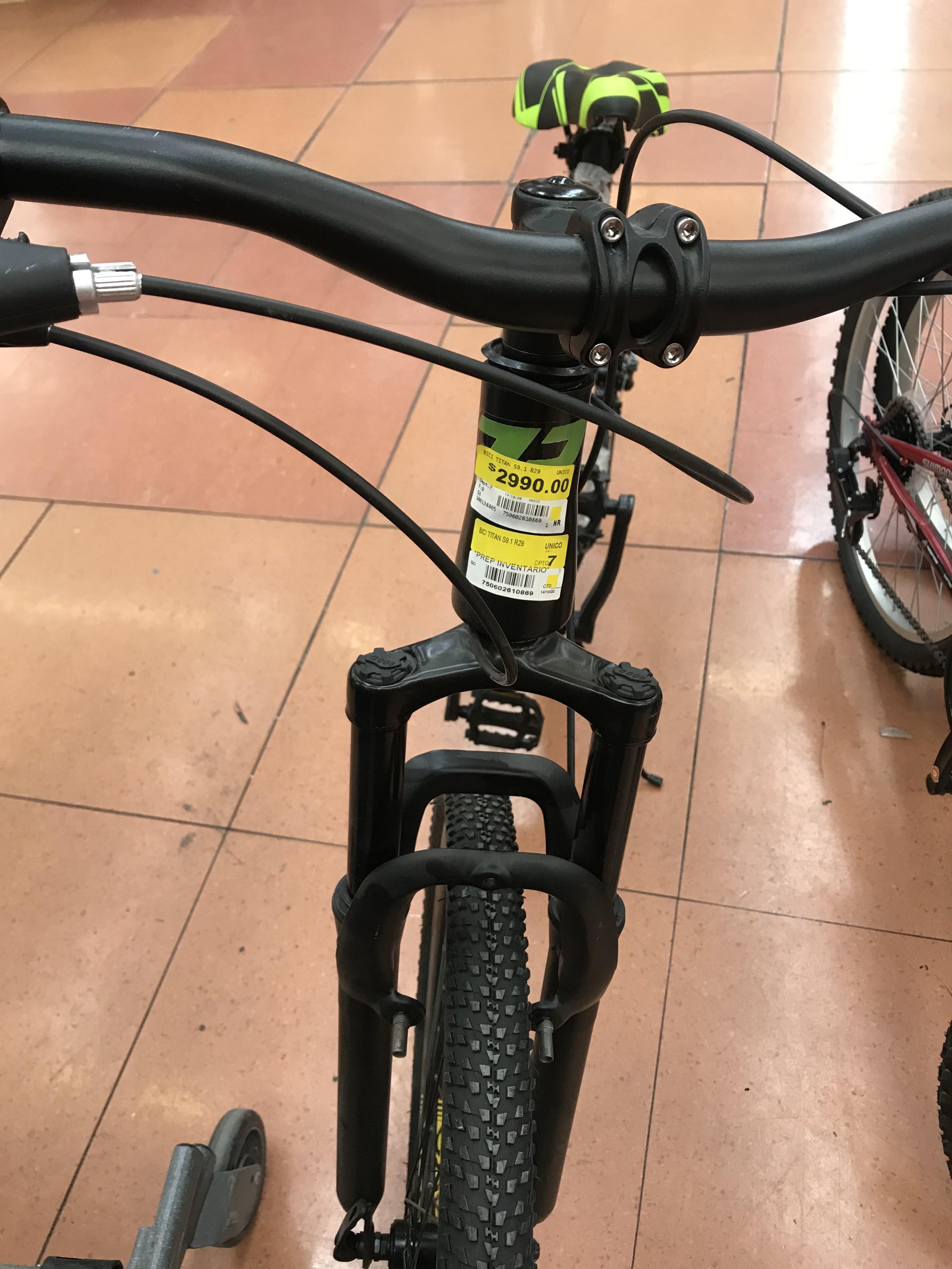 Bicicleta TITÁN Rodada 29 Walmart Tepeyac CDMX