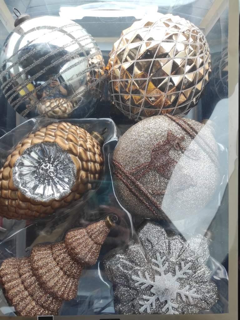 Sam's Club Villahermosa: Set de esferas de lujo
