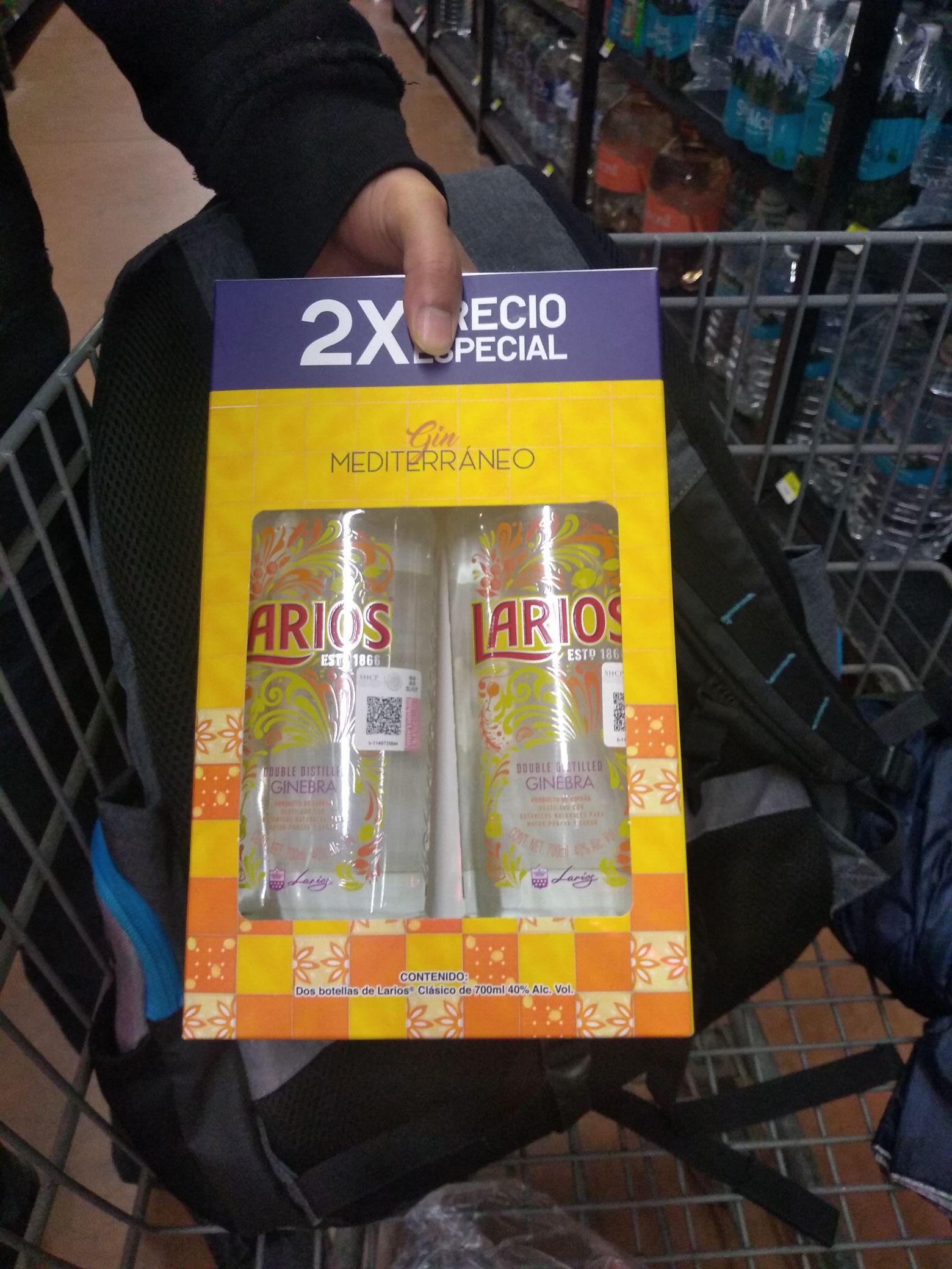Walmart perinorte: Botellas en liquidacion varias marcas
