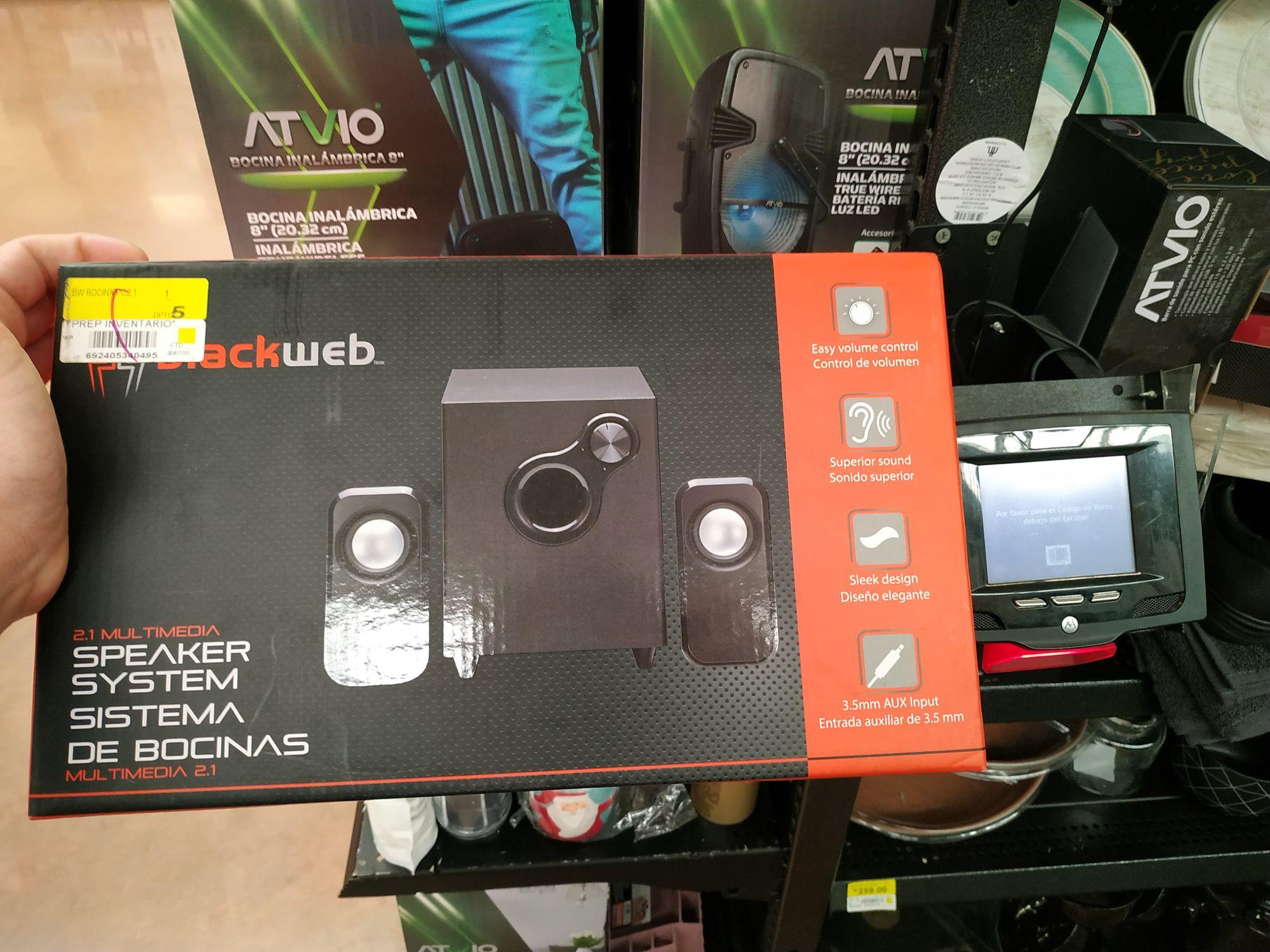 Walmart, Bocina Black Web 1ra liquidación