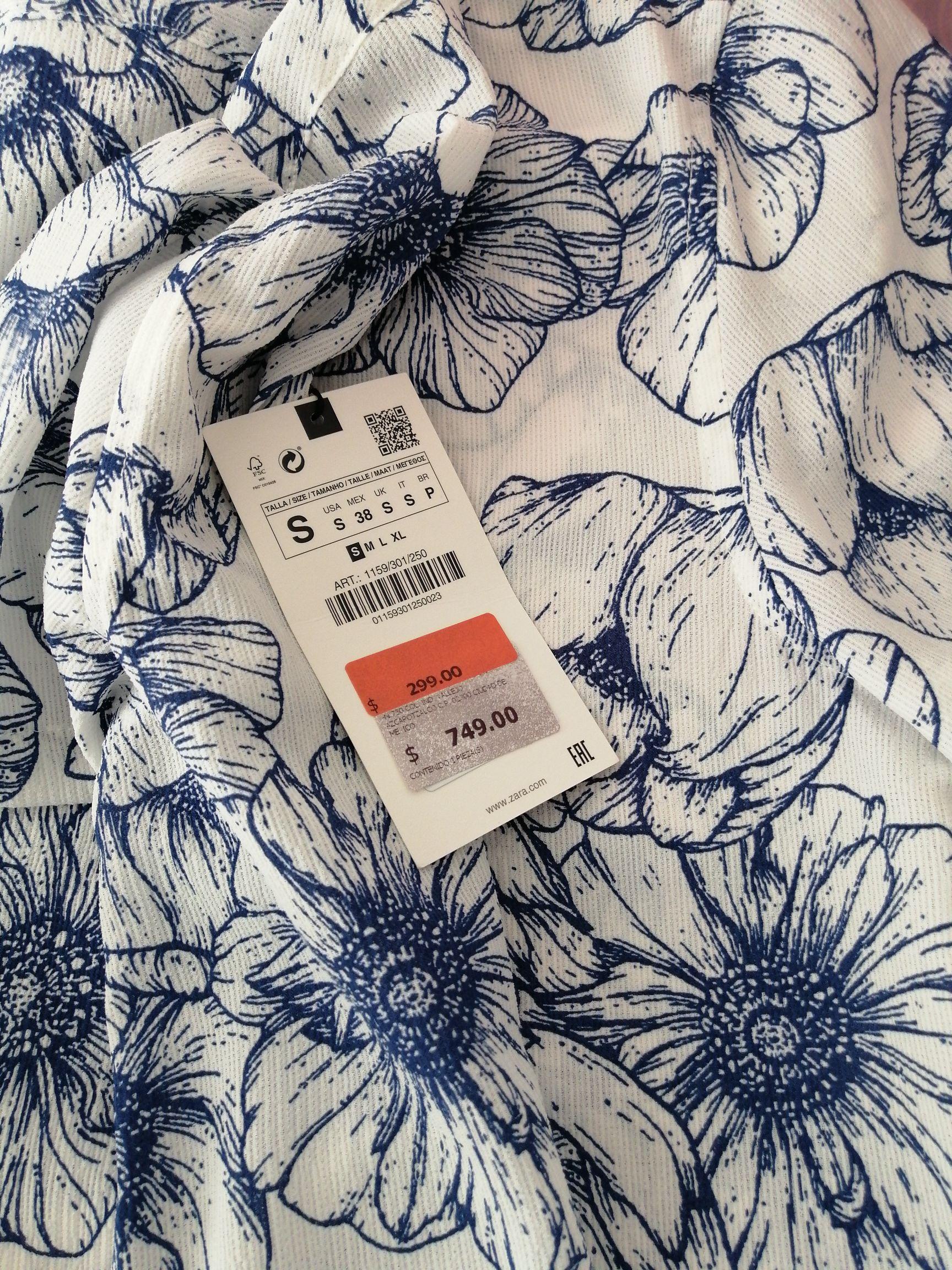 Zara: Camisa manga corta