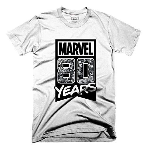 Amazon: Playera Marvel 80 aniversario Mujer Talla M