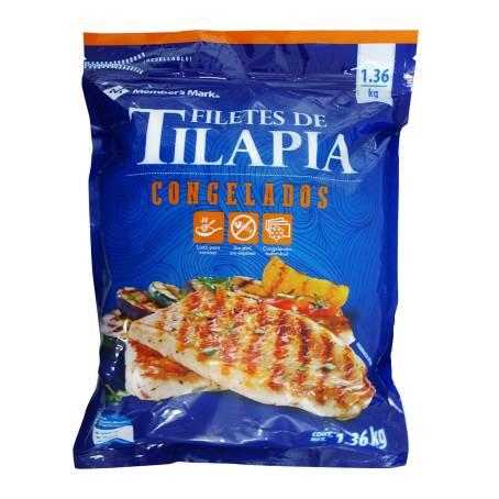 Sam's Club: filete tilapia 1.36 kilos + Ensalada de vegetalitos