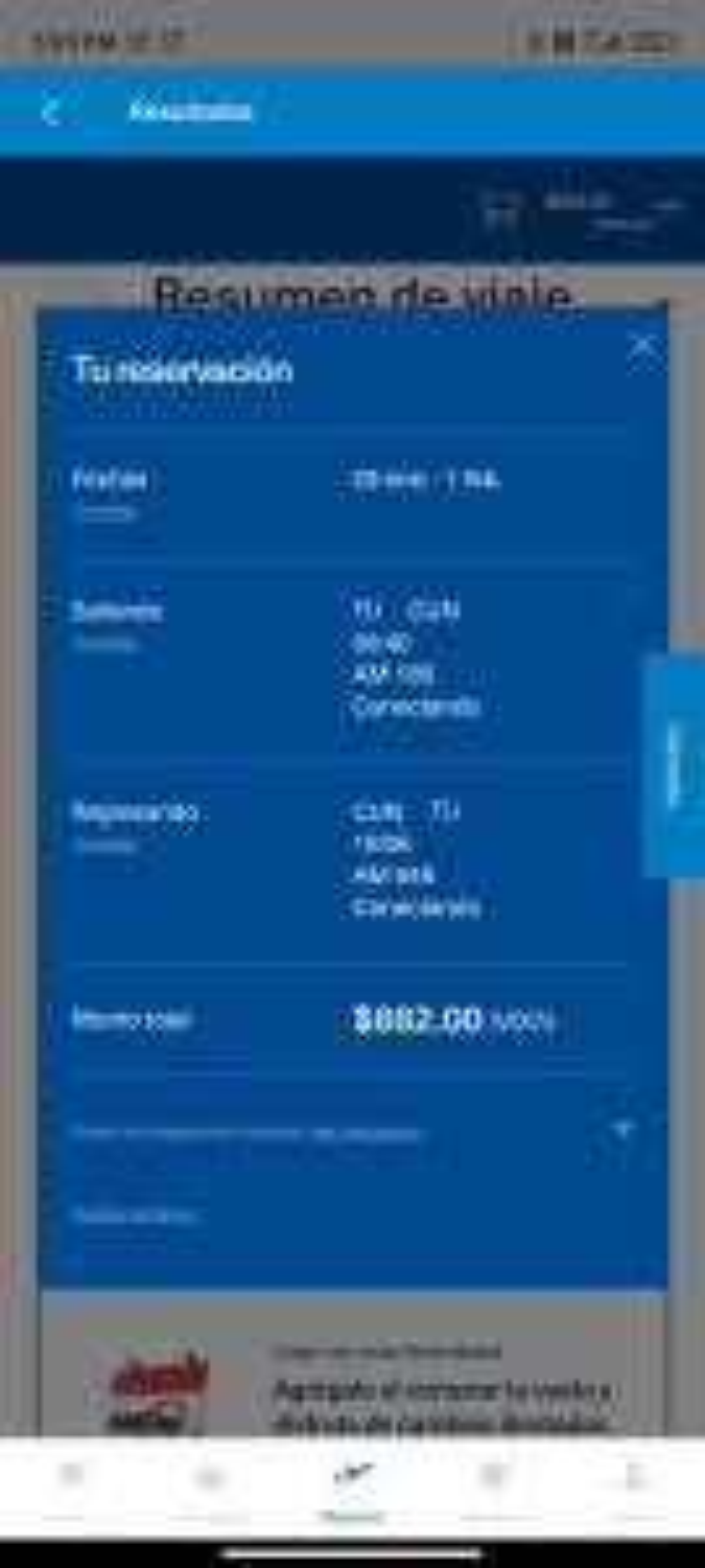 AeroMexico: Vuelos de Tijuana - Cancun redondo (TUA incluido)