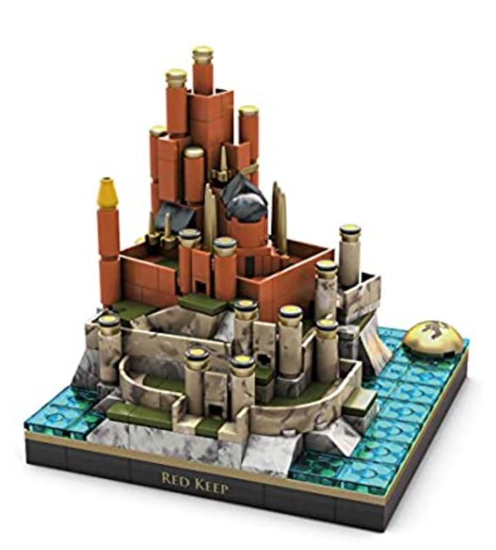 Amazon Game of thrones fortaleza roja y otros artículos, revisen comentarios.