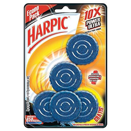 Amazon: Harpic Pastillas Acuáticas Azules, 5 Piezas Planea y ahorra: $41.40, Baja a $39.1 comprando 5 paquetes