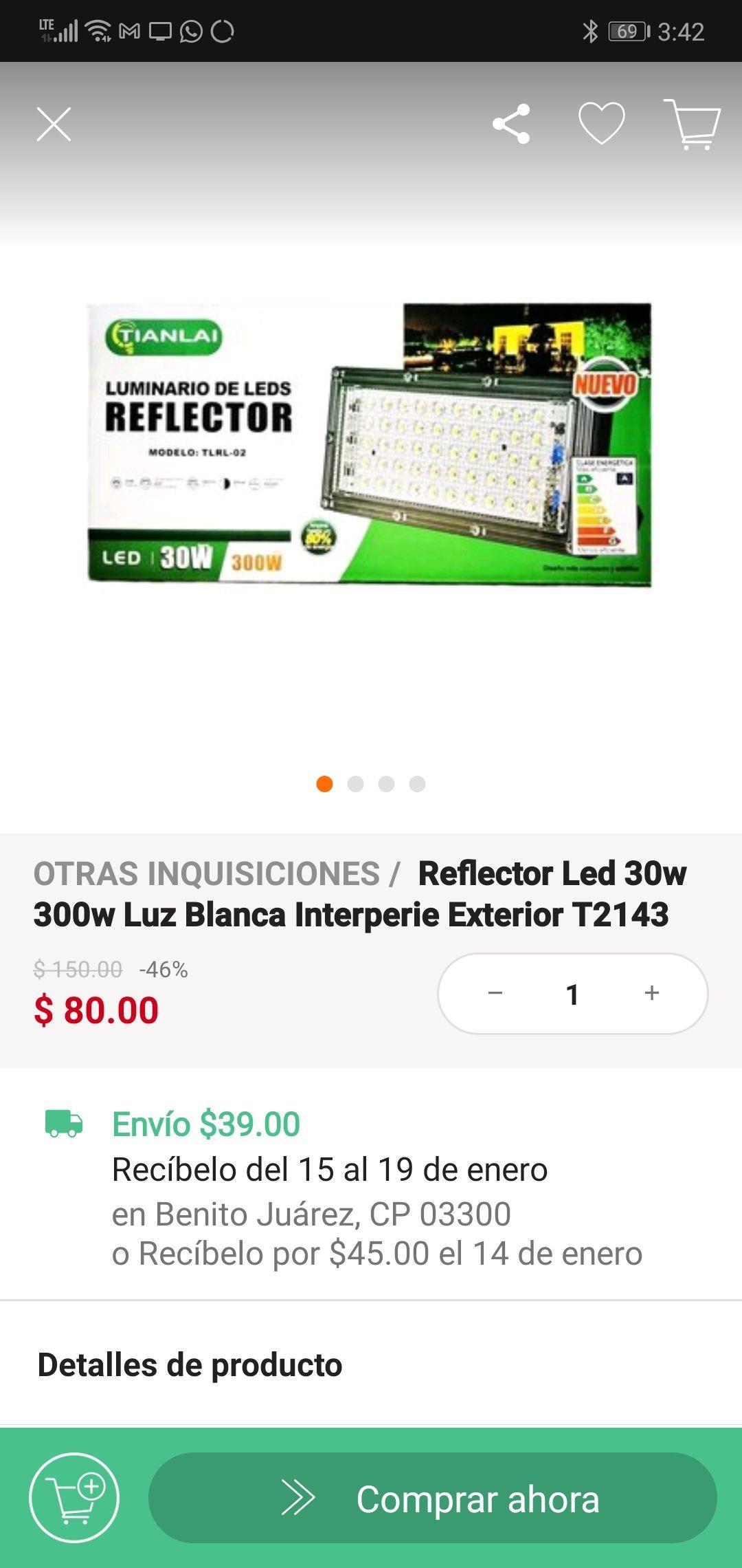 Linio: Reflector led
