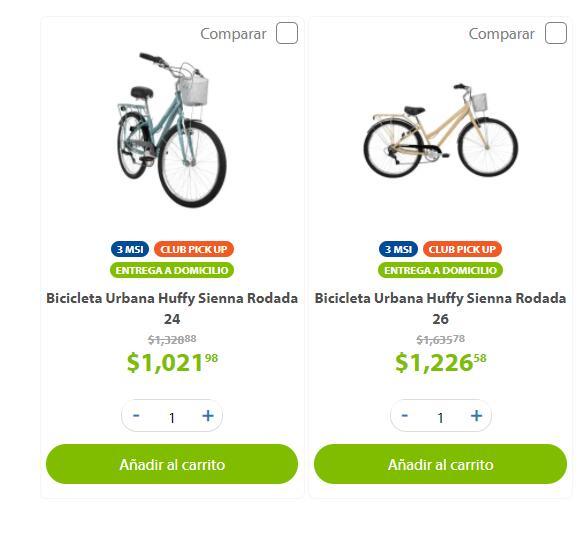 Sam's Club: Bicicleta Urbana Huffy Sienna Rodada 24 y 26