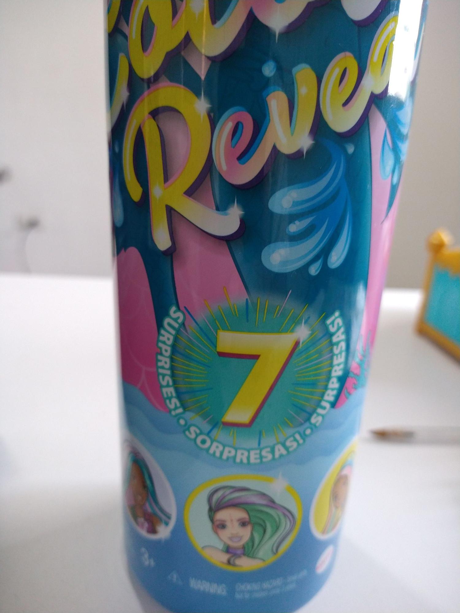 Bodega Aurrerá: Barbie sirena color reveal