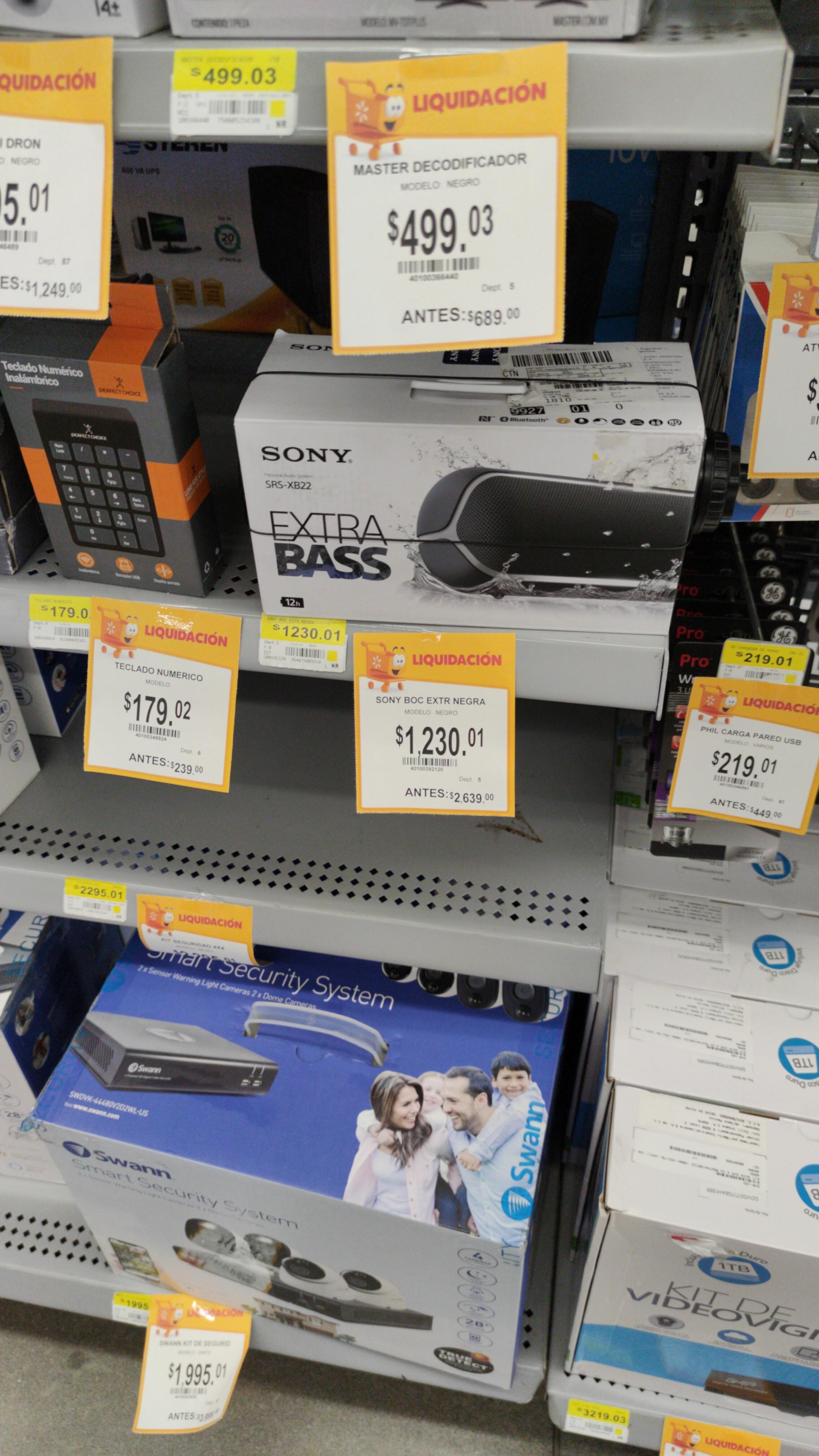 Walmart Sony srs-Xb22