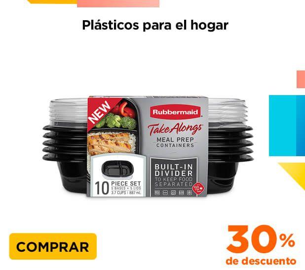 Chedraui: 30% de descuento en productos de la marca Rubbermaid del depto. de hogar