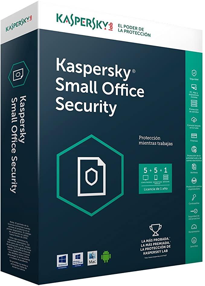 16 Meses GRATIS de Kaspersky Small Office Security 2021 (6 computadoras)