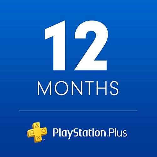 Ebay: Suscripción PlayStation Plus 12 Meses