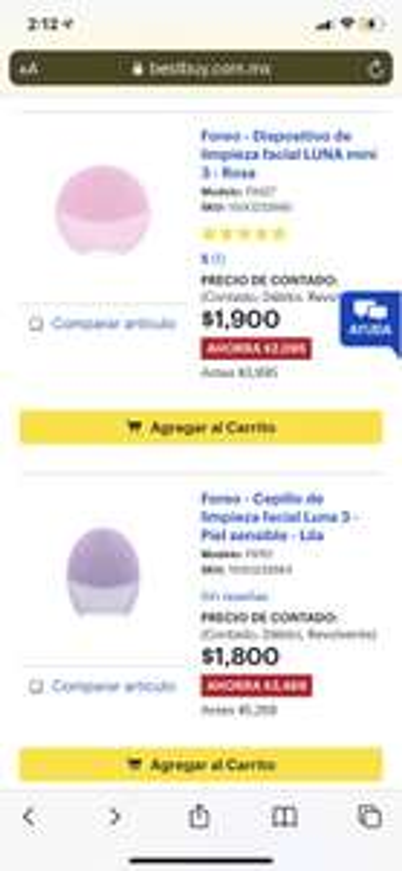 Best Buy: Foreo luna 3