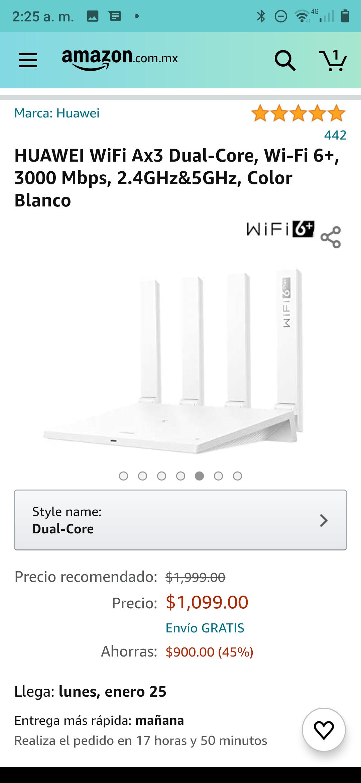 Amazon, HUAWEI WiFi Ax3