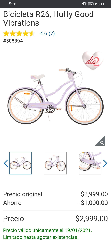 Costco, Bicicleta R26, Huffy Good Vibrations