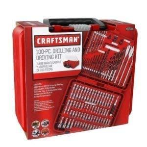 Amazon: Kit Craftsman 100 piezas taladrar y atornillar
