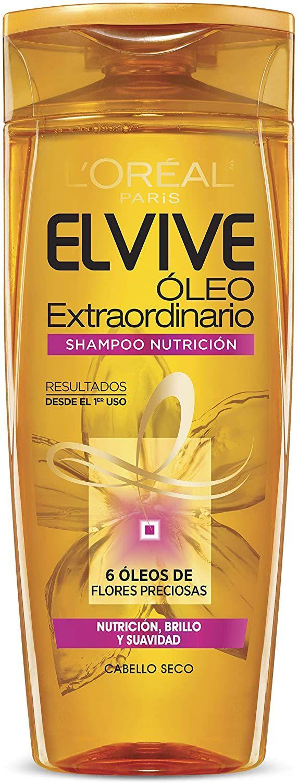 Amazon: L'Oreal Paris Shampoo Elvive Oleo Extraordinario Coco Nutricion Intensa, 400 ml