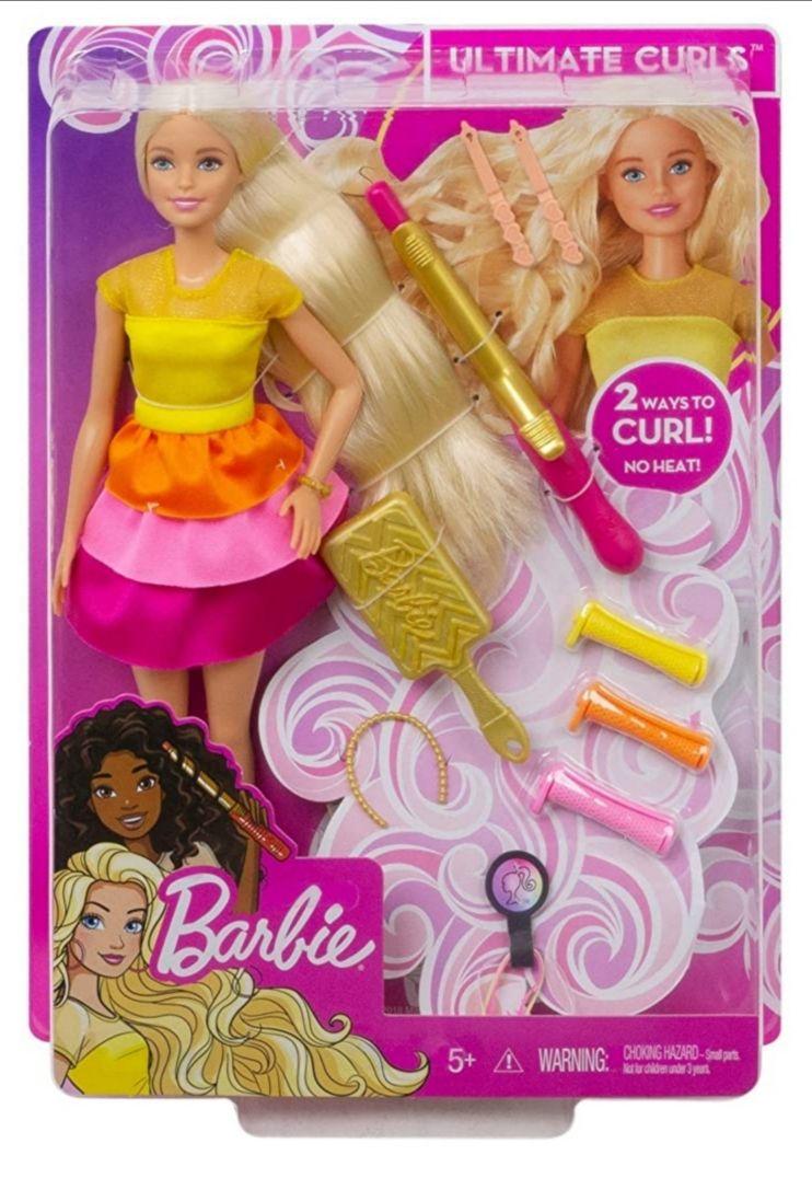 Amazon: Barbie Fashion Muñeca Peinados De Ensueño