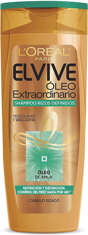 L'Oreal Paris Shampoo Elvive Oleo Extraordinario Rizos Definidos, 400 ml