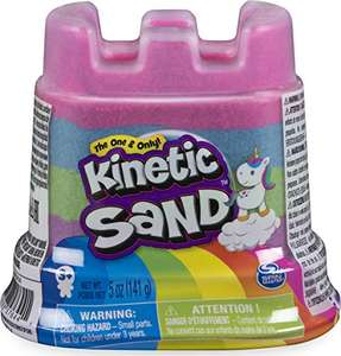 Amazon: Kinetic Sand Contenedor Unicornio Manualidades