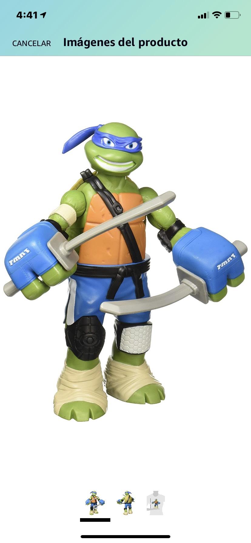Amazon: Leonardo de las Tortugas Ninja