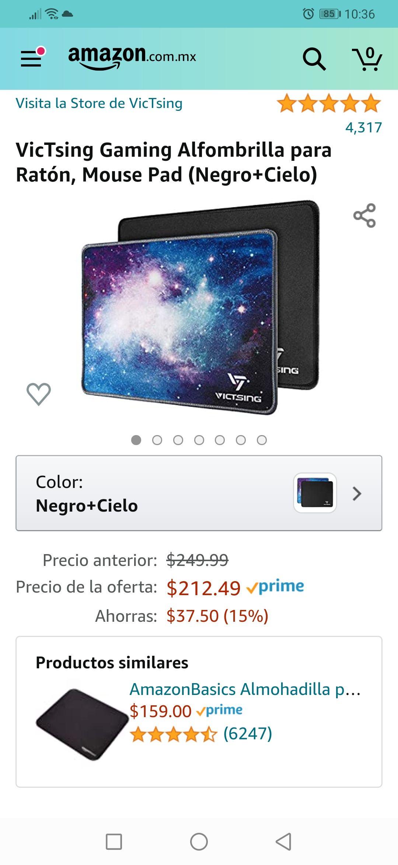 Amazon: 2 Mouse pad Gamer VicTsing