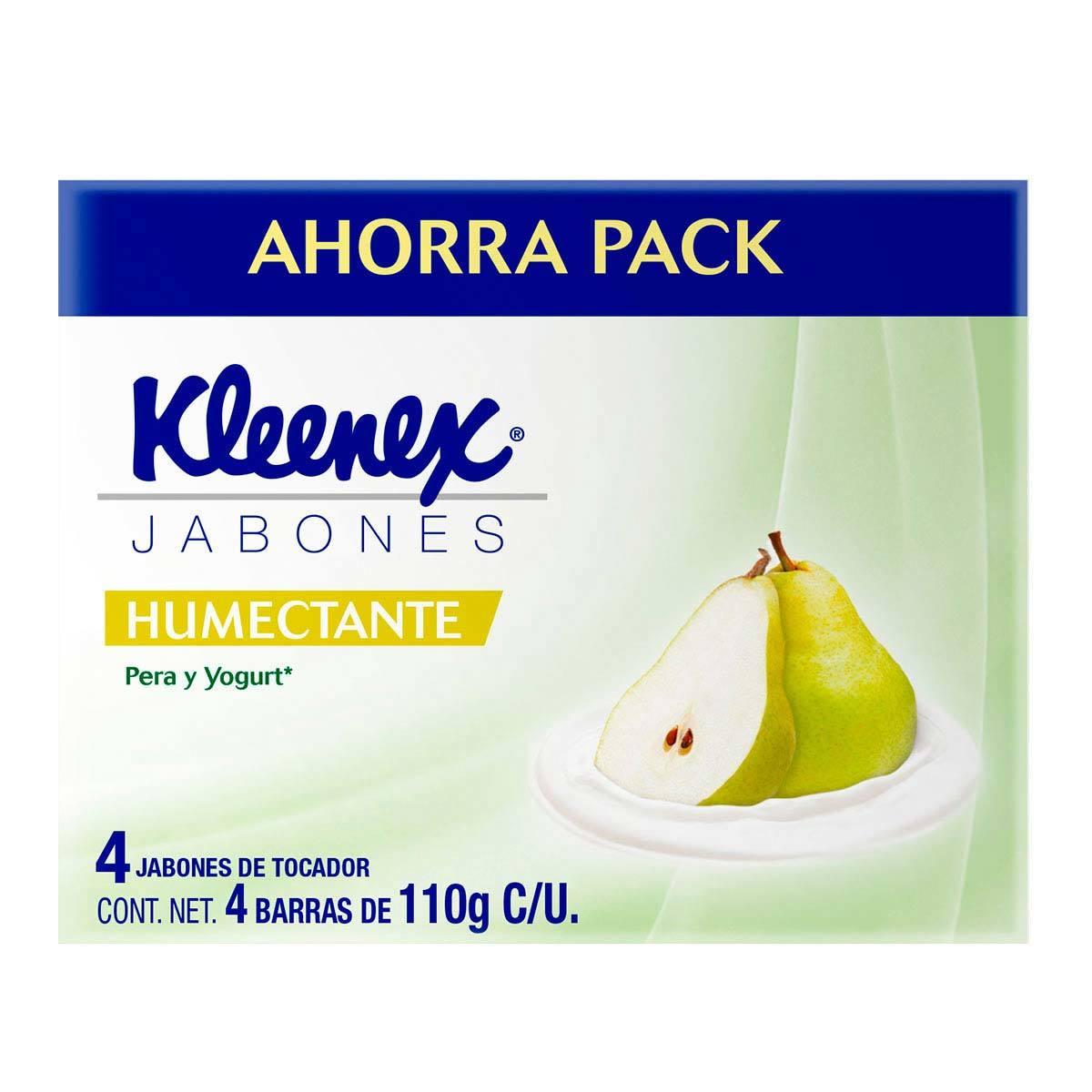 Chedraui, Jabón en Barra Kleenex 4 Barras de 110g