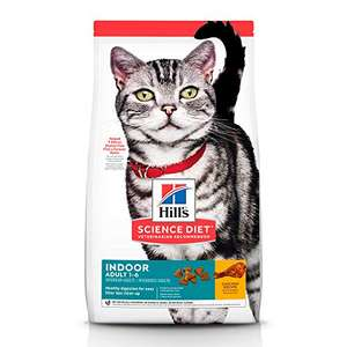AMAZON:Hill's Science Diet, Alimento para Gato Adulto Indoor, Seco (bulto) 7kg