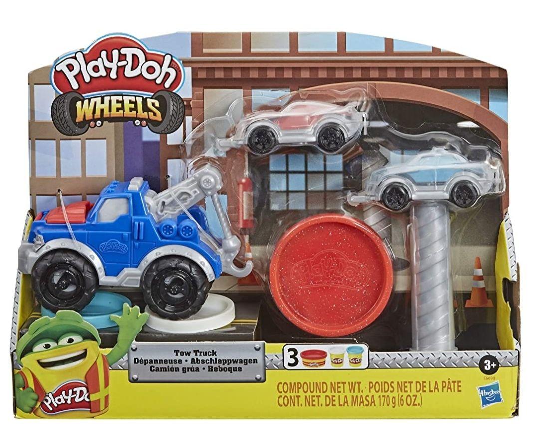 Amazon: Play Doh Wheels Set de Juego Camión Grúa
