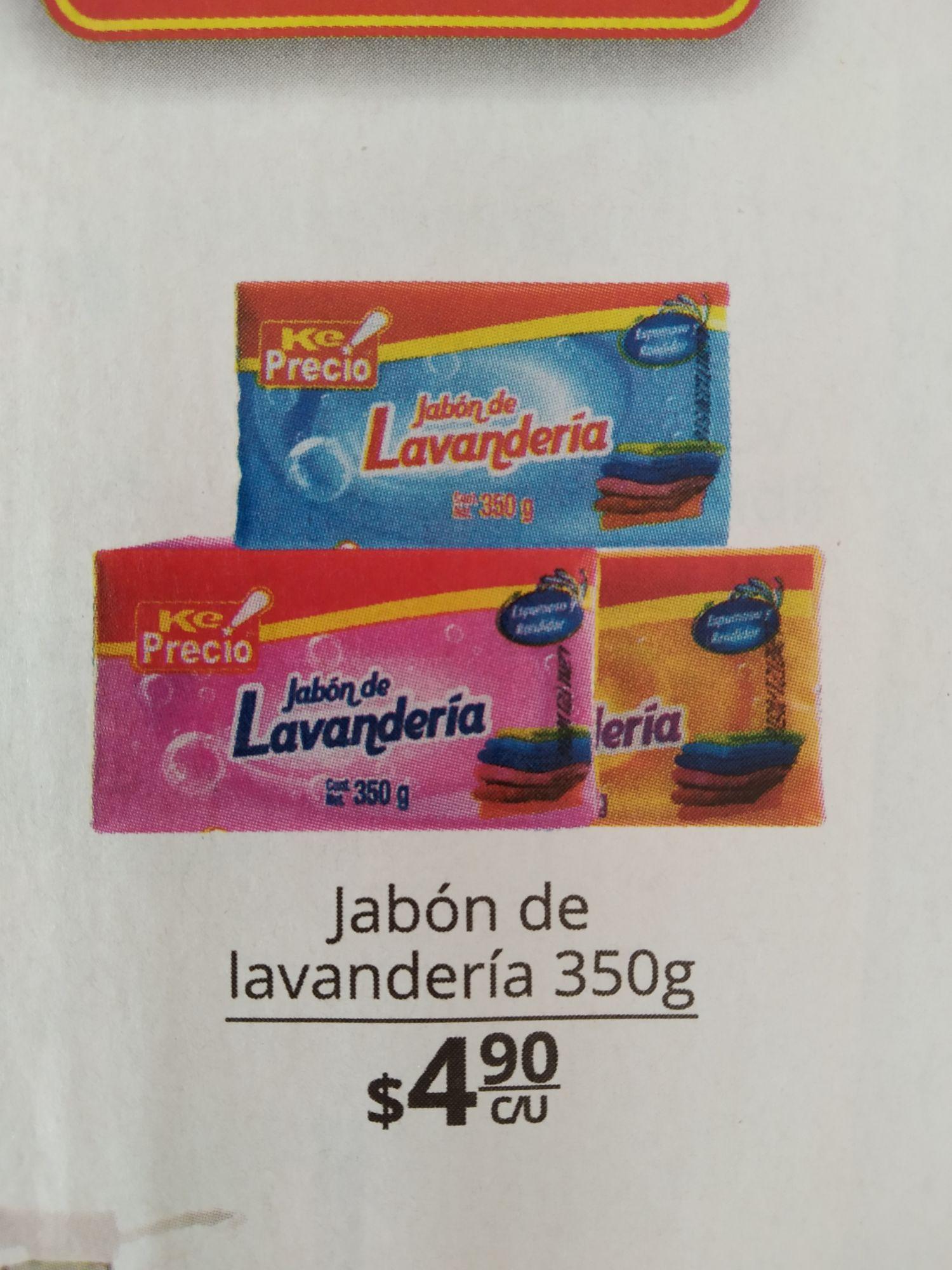 La Comer Querétaro Jabón de Lavandería Ke Precio