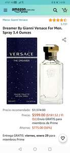 Amazon: Perfume Dreamer By Gianni Versace For Men