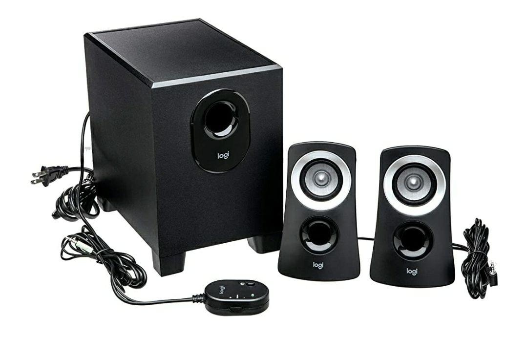 Amazon: Logitech - Z313 - Sistema De Audio 2.1 - Negro