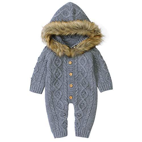 Amazon - Trajecito tejido con capucha pal frio :D