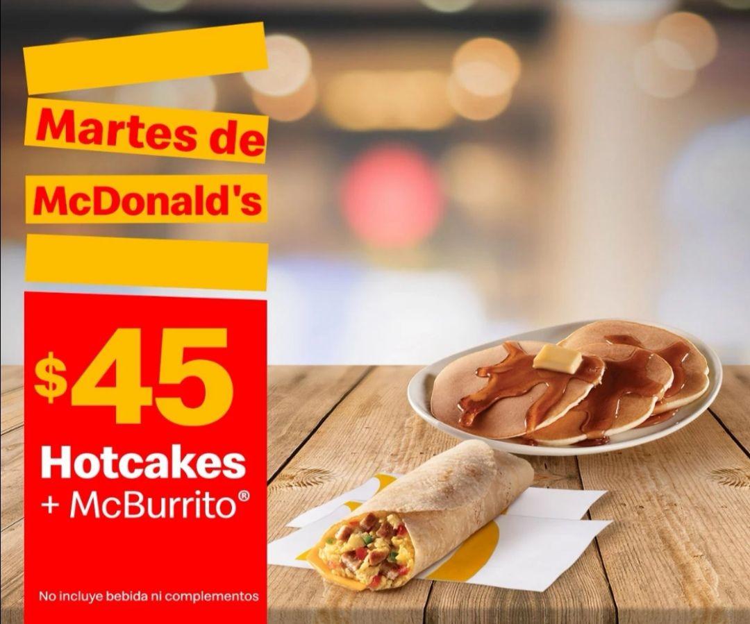 McDonald's: Martes de McDonald's 26 Enero