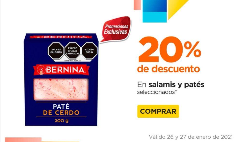 Chedraui: 20% de descuento en salamis y patés seleccionados