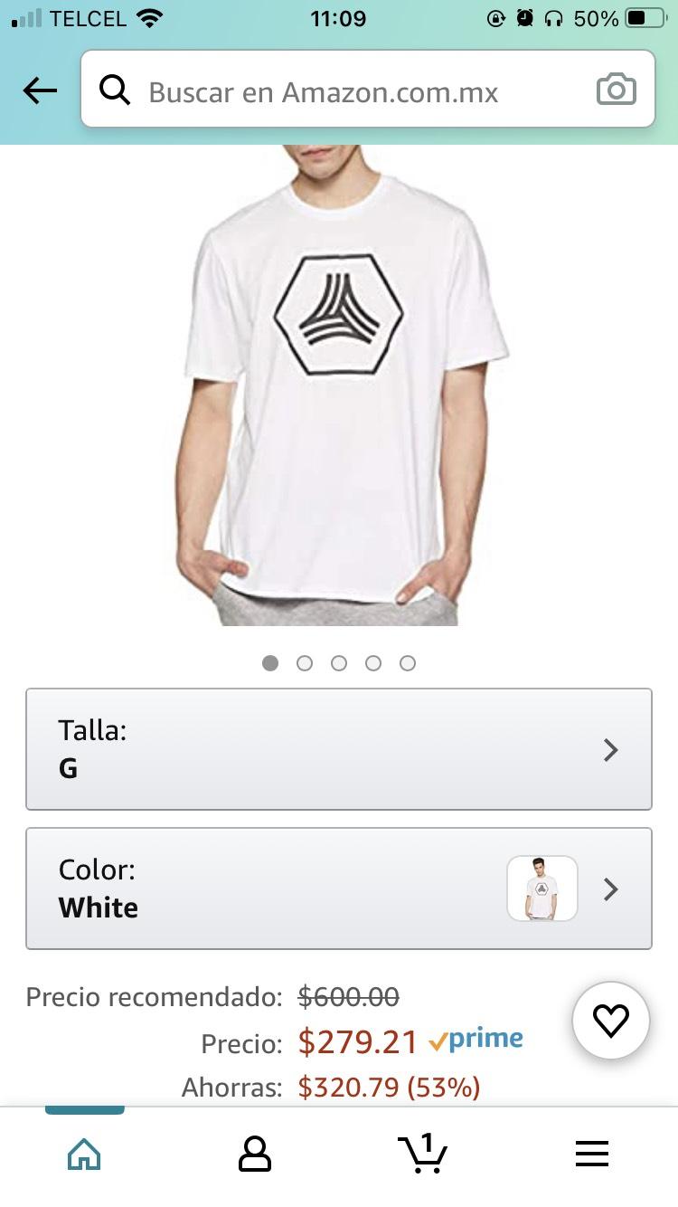 Amazon: Playera adidas