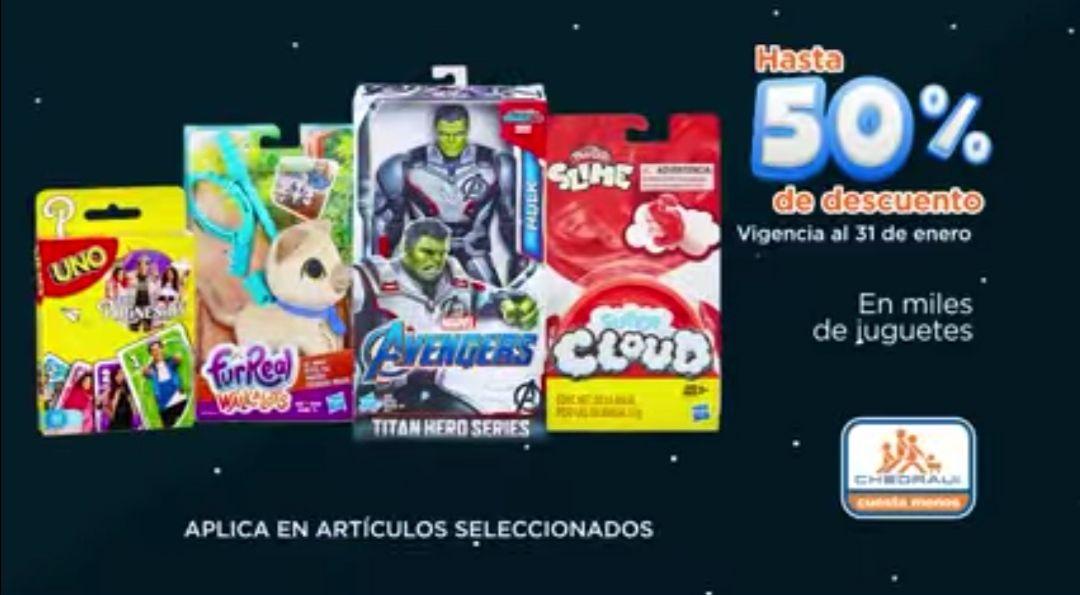 Chedraui: Hasta 50% de descuento en selección de juguetes