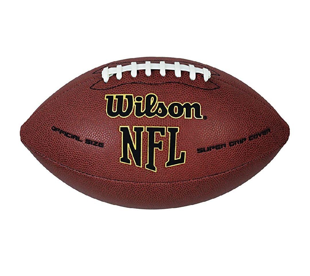 Amazon: Wilson NFL Super Grip Football