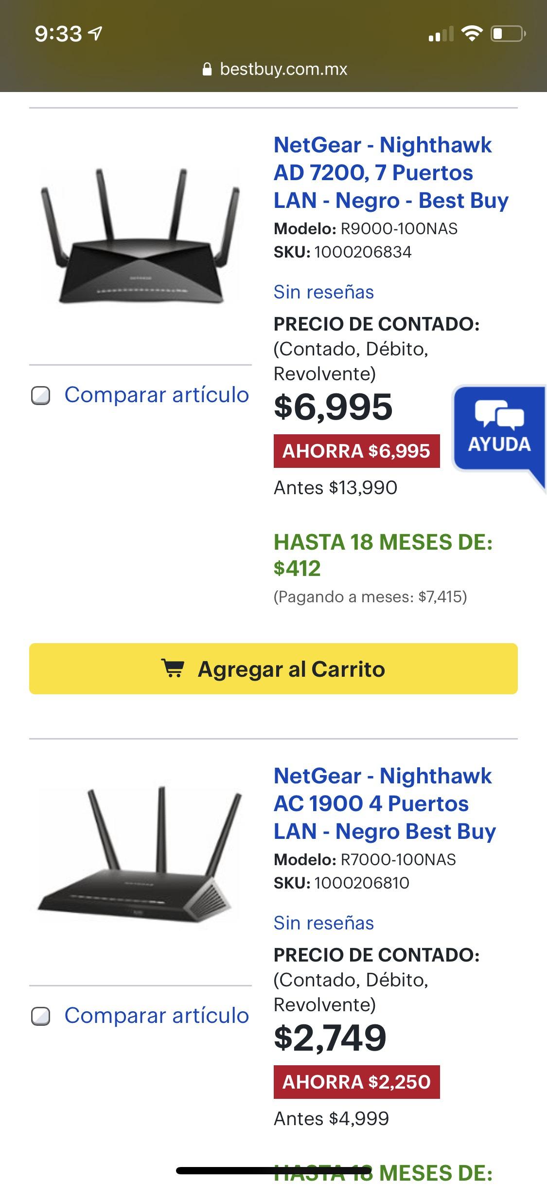 Best Buy: Todos los routers con el 50% de descuento o más (leer descripción)