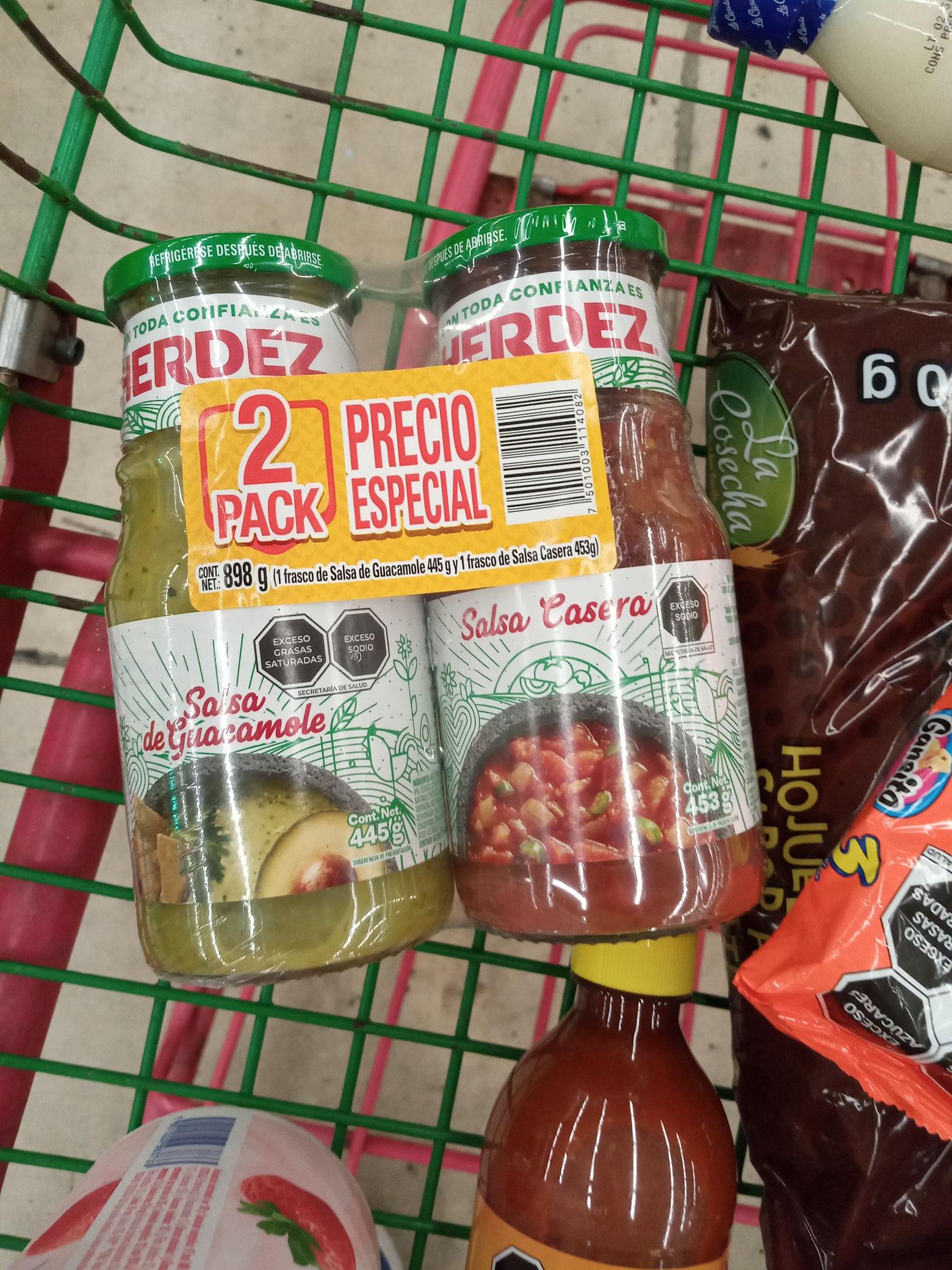 Bodega Aurrerá: duo Pack de salsas herdez a buen precio