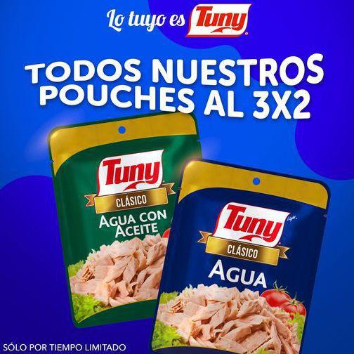 Atún Tuny: 3x2 en Pouches en TODOS los Supermercados